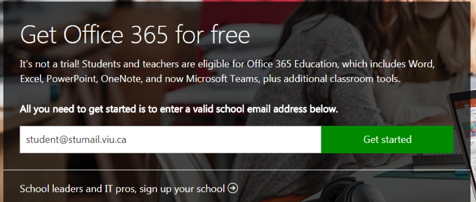 How Do I Subscribe to Microsoft Office 365? | VIU Technology | VIU